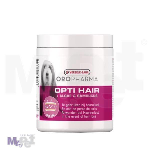 OROPHARMA dodatak ishrani za pse Opti Hair, protiv linjanja