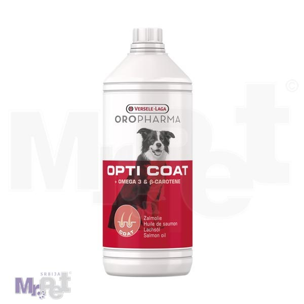 OROPHARMA dodatak ishrani za sjaj dlake psa Dog Opti coat 1 l