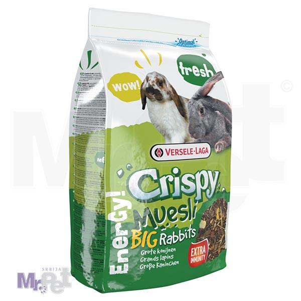 CRISPY hrana za zeca Muesli - Big Rabbits; 2,75 kg