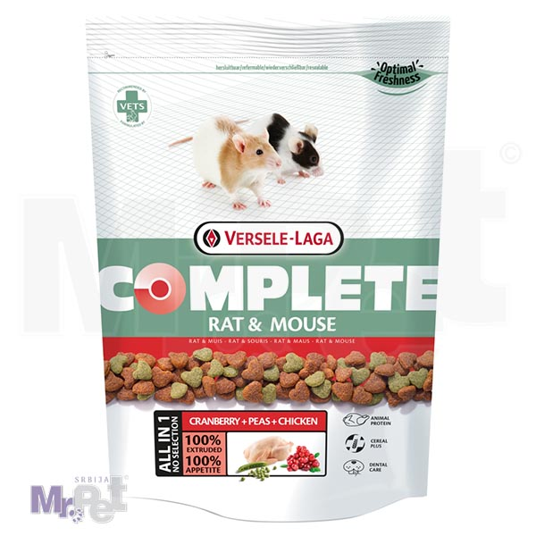 COMPLETE hrana za pacove i miševe Rat i Mouse, 500 g