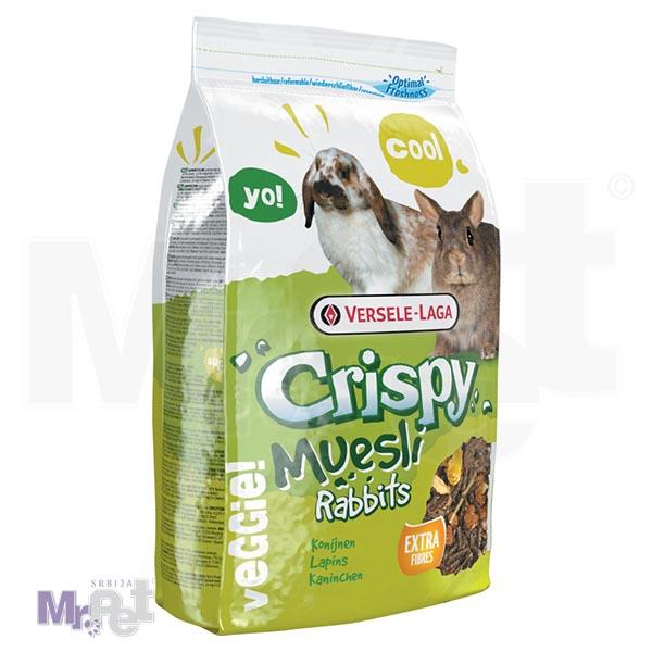 CRISPY hrana za zeca Muesli - Rabbits