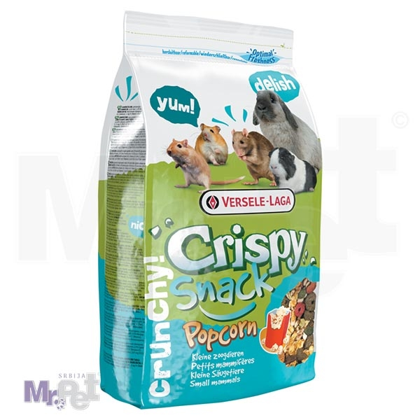 CRISPY hrana za male životinje Snack Popcorn