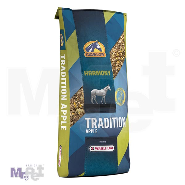 CAVALOR hrana za konje TRADITIONAL APPLE