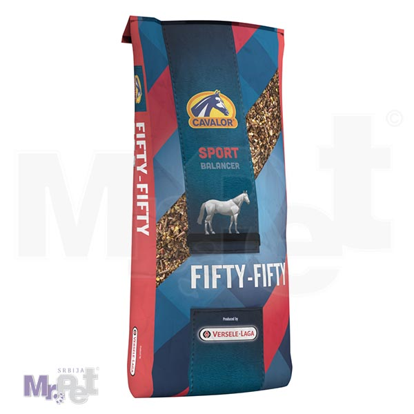 CAVALOR hrana za konje FIFTY-FIFTY