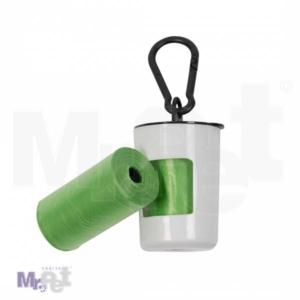 DUVO dispenzer za higijenske kesice, zeleni, 2 x 20 kom