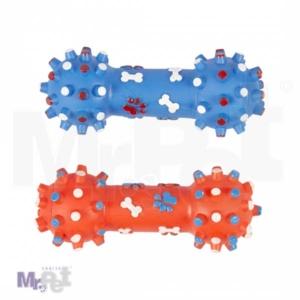 DUVO Vinil igračka za pse teg plavi i crveni