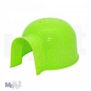 DUVO iglu veliki zeleni 25 cm, za glodare