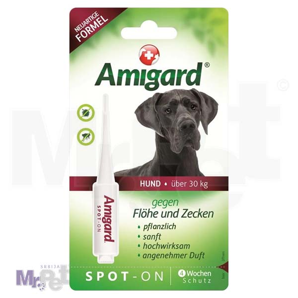 AMIGARD sredstvo protiv buva i krpelja Spot-on 1 ampula za pse iznad 30 kg