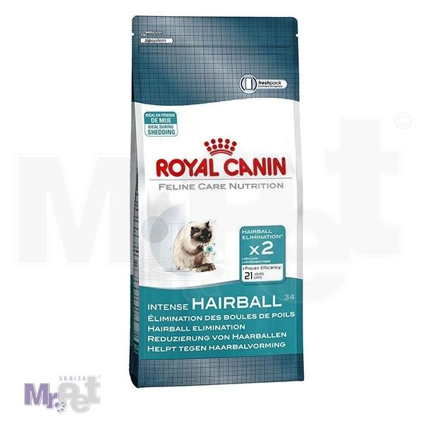 ROYAL Canin hrana za mačke INTENSE HAIRBALL 34
