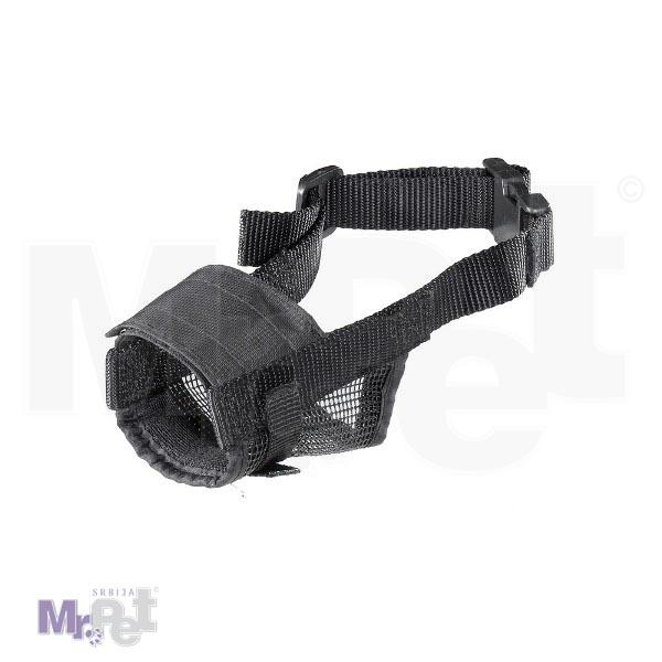 FERPLAST Muzzle net crna - korpa za njušku psa