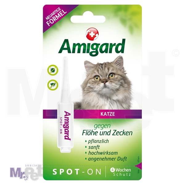 AMIGARD sredstvo protiv buva i krpelja Spot-on 1 ampula za mačke