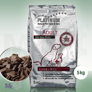 PLATINUM hrana za odrasle pse sa jagnjetinom i pirinčem