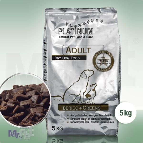 PLATINUM hrana za odrasle pse sa Iberiko mangulicom i zeljem