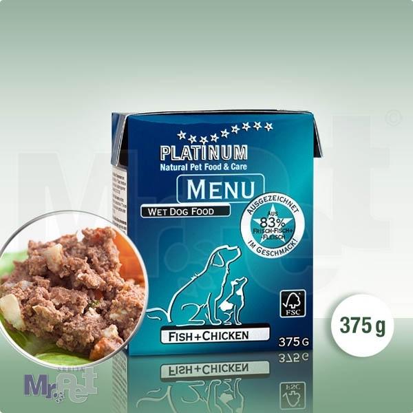 PLATINUM hrana za pse Menu riba i piletina