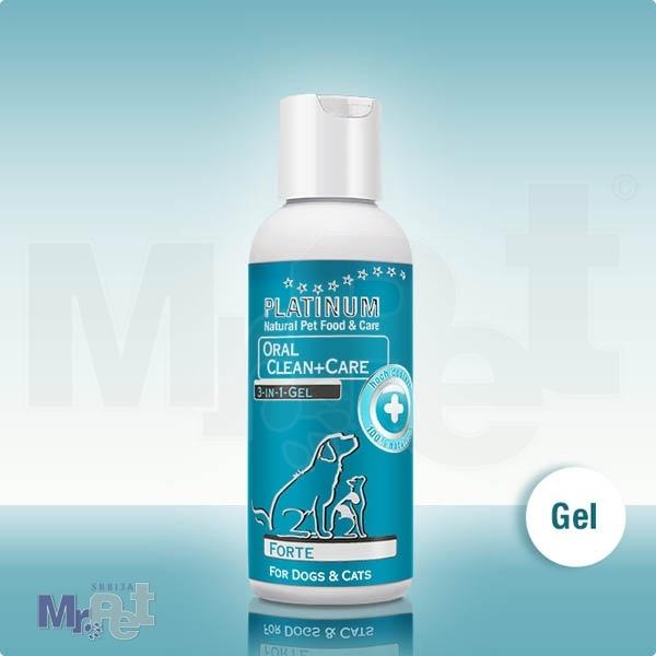 PLATINUM za negu zuba psa OralClean+Care gel forte