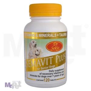 SEMACO Dr.Sekiz vitaminsko mineralni dodatak za starije pse Semavit Plus