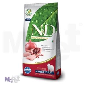N&D Grain Free Hrana za pse Maxi Adult, Piletina i  Nar 12 kg