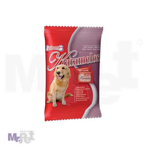 DAFIKO poslastice za pse 75 g Karamelos-dimljeno