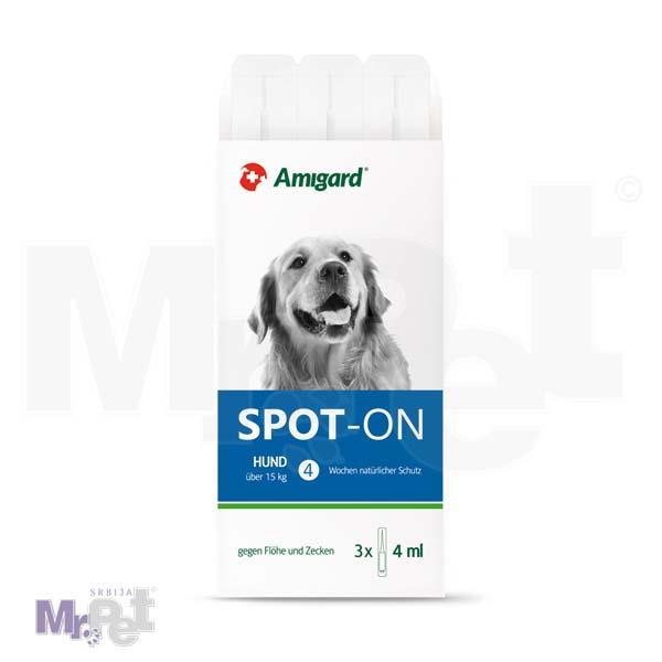 AMIGARD sredstvo protiv buva i krpelja Spot-on 3 ampule za pse iznad 15 kg