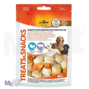 CAMON poslastica za pse kost sa piletinom i govedinom 80 g