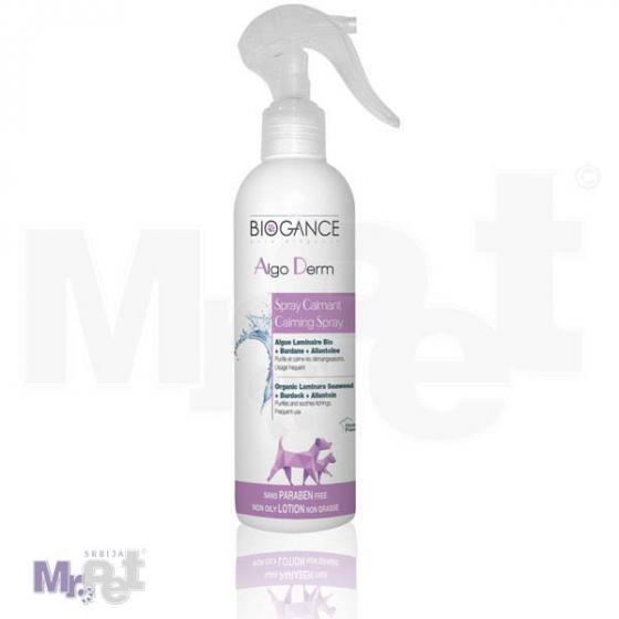 Biogance Algo derm spray za negu kože psa, 250 ml