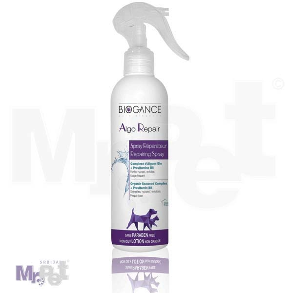 Biogance Algo repair spray za negu dlake psa, 250 ml