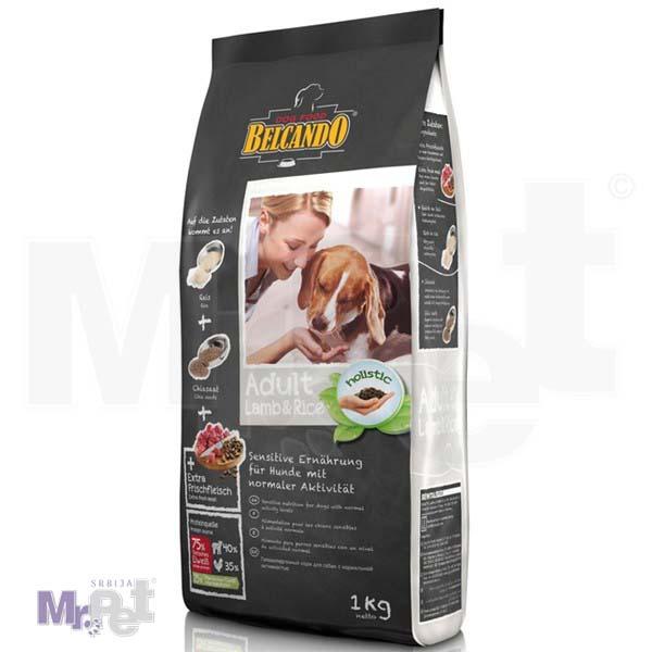 BELCANDO hrana za pse Adult jagnjetina i pirinač All Breed
