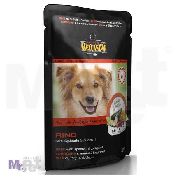 BELCANDO vlažna hrana za pse Adult govedina, tikvice i testenina 300 g
