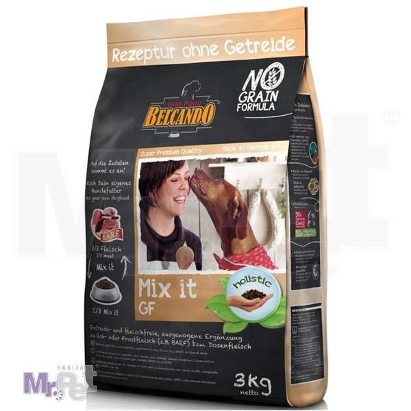 BELCANDO hrana za pse MIX-it BEZ ŽITARICA