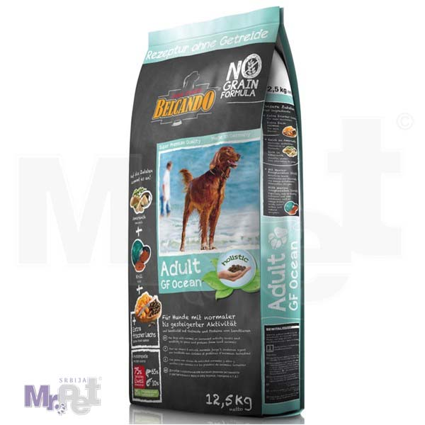 BELCANDO hrana za pse Adult Ocean Haringa i losos BEZ ŽITARICA