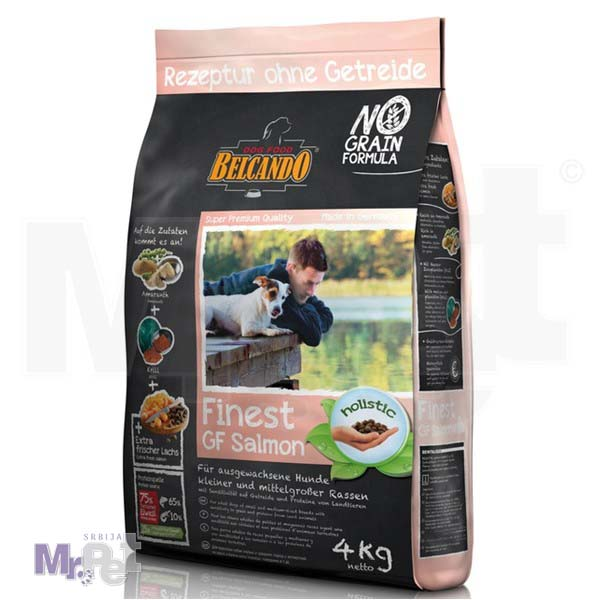 BELCANDO hrana za pse Finest losos Small/Medium BEZ ŽITARICA
