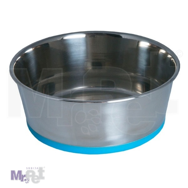 ROGZ STAINLESS STEEL BOWLZ - činija za psa M