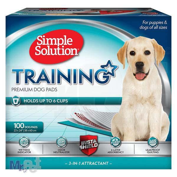 SIMPLE Solution pelene za štence Puppy Training Pads - 100 kom