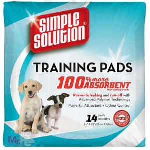 SIMPLE Solution pelene za štence Puppy Training Pads - 14 kom