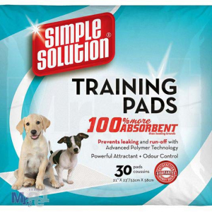 SIMPLE Solution pelene za štence Puppy Training Pads - 30 kom