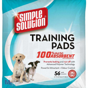 SIMPLE Solution pelene za štence Puppy Training Pads - 56 kom