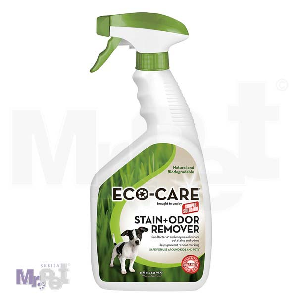 SIMPLE Solution ekološko sredstvo za čišćenje Eco Care Stain+Odour Remover, 750 ml