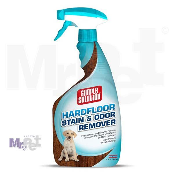 SIMPLE Solution sredstvo za čišćenje tvrdih površina Hard Floor Stain+Odour Remover, 945 ml