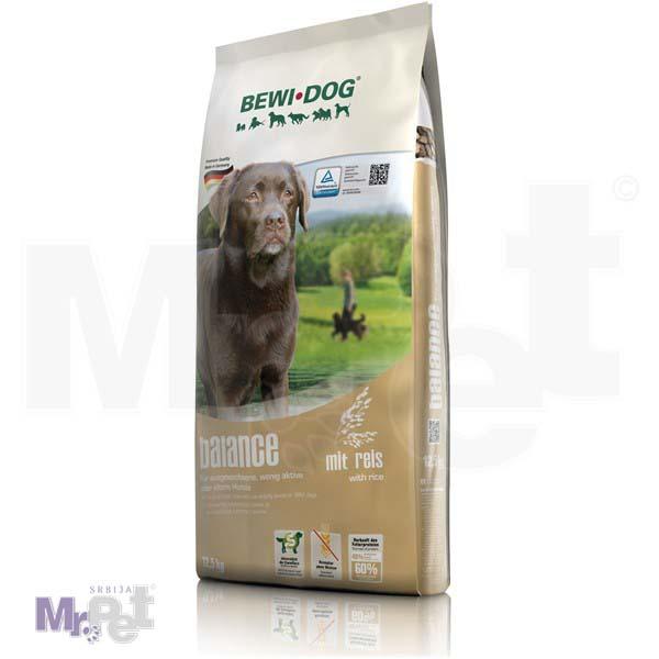 BEWI DOG hrana za pse Balance sa pirinčem