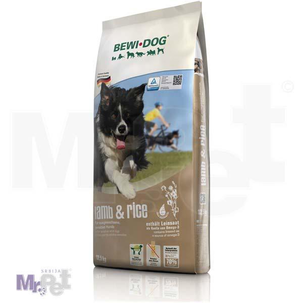BEWI DOG hrana za pse Lamb & Rice, jagnjetina i pirinač