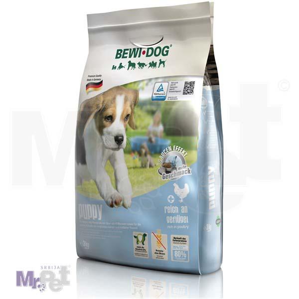 BEWI DOG hrana za pse Puppy bogat živinskim mesom