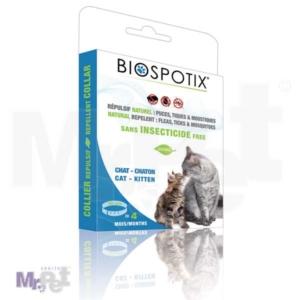 Biogance antiparazitska biljna ogrlica Biospotix za mačke/mačiće