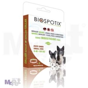 Biogance antiparazitska biljna ogrlica Biospotix za S pse