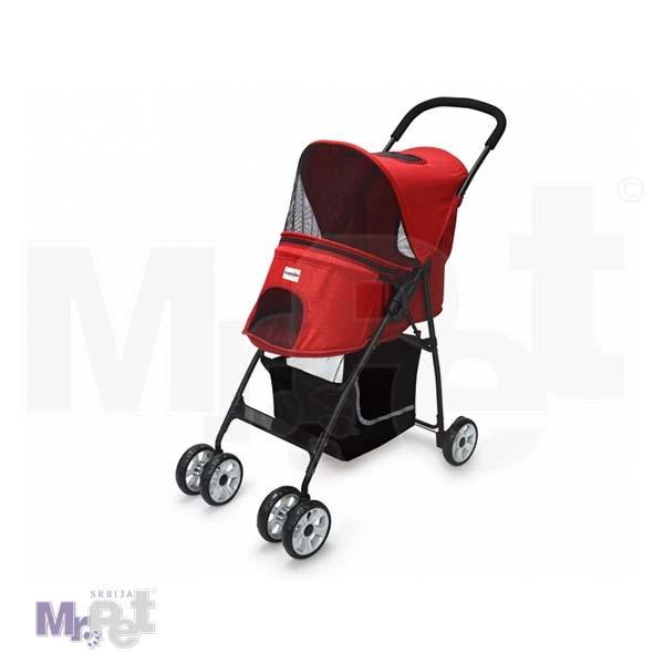 CAMON kolica za ljubimce, crvena