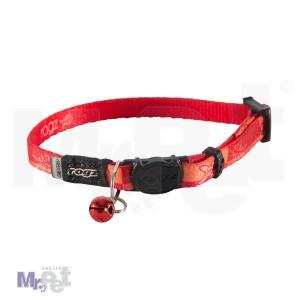 ROGZ ogrlica za mačke sa sigurnosnom kopčom 11 mm - 20-31 cm