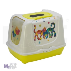CLOSED LITTER BOX TRENDY 57 MOD C245 0329 FRIENDS FOREVER2