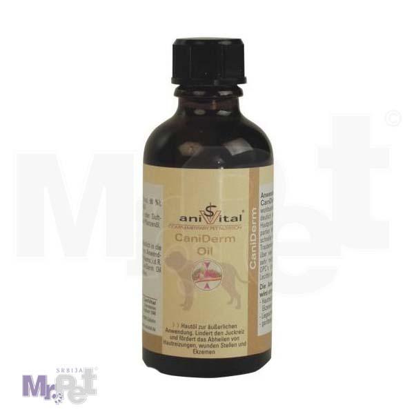 ANIVITAL Cani Derm oil® ulje za poboljšanje stanja kože i dlake psa, 50 ml ulja
