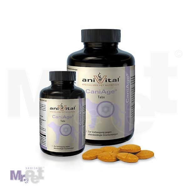 ANIVITAL Cani Age® vitamini i minerali za pse sa problemima vezanim za starenje (anti-ageing kompleks), 60 tableta