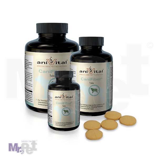 ANIVITAL Cani Fiber® vitamini i minerali za pse za rešavanje probavnih problema i gojaznosti, 60 tableta