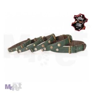 CAMON kožna ogrlica za pse sa nitnama